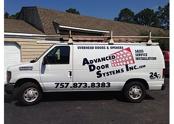 Newport News garage door repair Advanced Door Systems Inc.