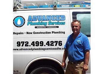 Denton plumber Advanced Plumbing DFW