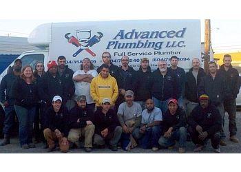 Richmond plumber Advanced Plumbing, LLC.