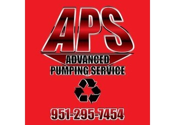 Corona septic tank service Advanced Pumping Service