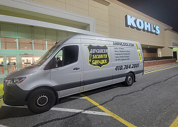 Baltimore locksmith Advanced Security Safe and Lock