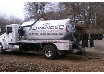 Sacramento septic tank service Advanced Septic Pumping Service