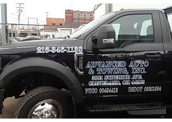 Cleveland towing company Advanced Towing