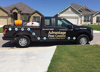 Killeen pest control company Advantage Pest Control