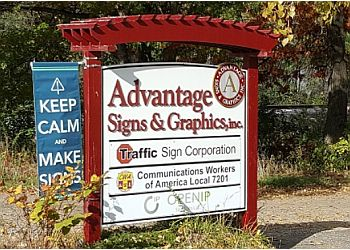 St Paul sign company Advantage Signs & Graphics, Inc.