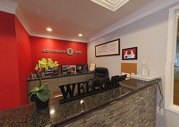 Baltimore web designer Adventure Web Interactive