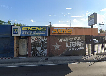 Miami sign company Adwave Signs, Inc.