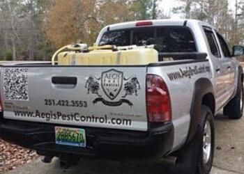 Mobile pest control company Aegis Pest Control