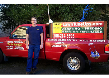 Seattle lawn care service Aerating Thatching Co