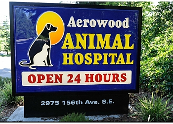 Bellevue veterinary clinic Aerowood Animal Hospital