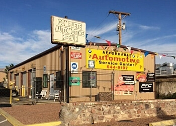 El Paso car repair shop Affordable Automotive Service Center LLC