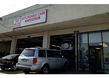 Los Angeles car repair shop Affordable Care of Hollywood