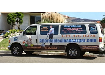 San Diego carpet cleaner Affordable Clean Carpet Service