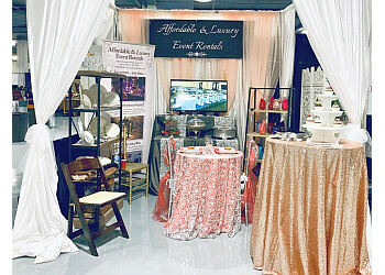 Virginia Beach event rental company Affordable & Luxury Event Rentals