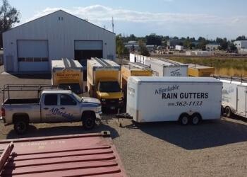 Boise City gutter cleaner Affordable Rain Gutters