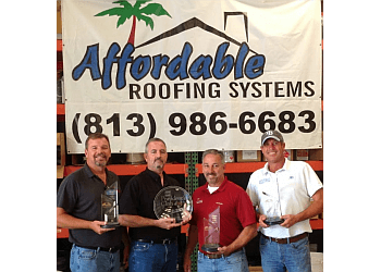 Tampa roofing contractor Affordable Roofing Systems