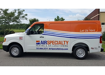 Norfolk hvac service Air Specialty Heating & Air Conditioning