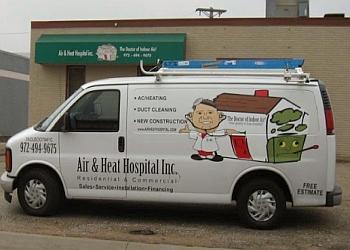 Garland hvac service Air & Heat Hospital Inc.