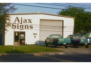 Irving sign company Ajax Sign Co.