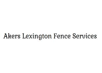 Lexington fencing contractor Akers Lexington Fence Services