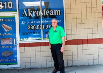 Akron carpet cleaner Akrosteam Carpet & Hard Surface Cleaning