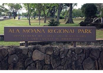 Honolulu public park Ala Moana Beach Park