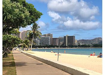 Honolulu public park Ala Moana Regional Park