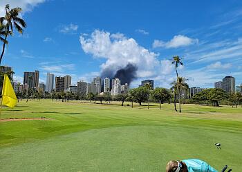 Honolulu golf course Ala Wai Golf Course
