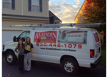 Aurora garage door repair Aladdin Doors of Kane County