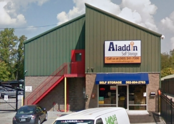 Louisville storage unit Aladdin Self Storage