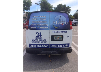 Hollywood carpet cleaner Aladin services