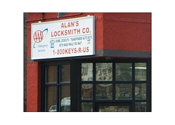 Worcester locksmith Alan's Locksmith Company