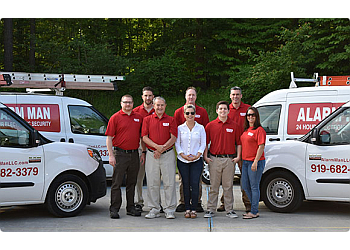 Durham security system Alarm Man of NC, LLC