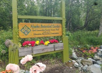 Anchorage places to see Alaska Botanical Garden