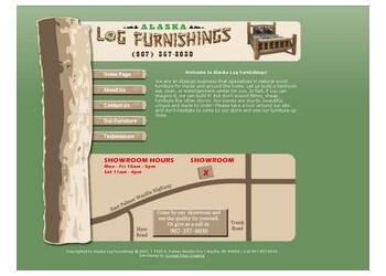 Alaska Log Furnishings Anchorage Furniture Stores