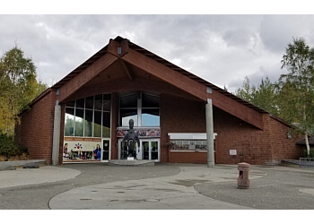 Anchorage places to see Alaska Native Heritage Center