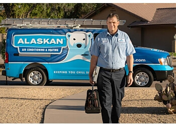 Tempe hvac service Alaskan Air Conditioning & Heating