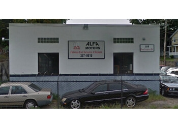 Bridgeport car repair shop Alfa Motors Inc.
