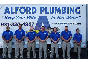 Clarksville plumber Alford Plumbing, LLC.