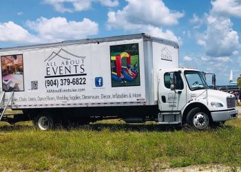 Jacksonville event rental company All About Events