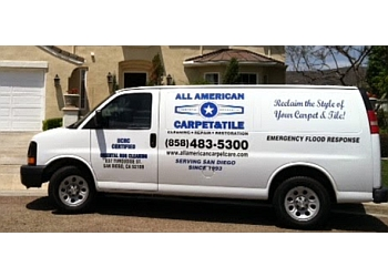 San Diego carpet cleaner All American Carpet & Tile