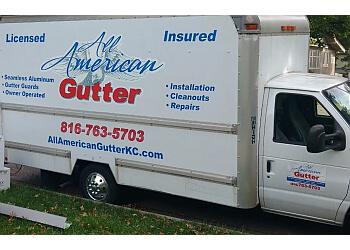Kansas City gutter cleaner All American Gutter
