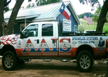 San Antonio lawn care service All American Irrigation Systems