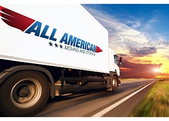 Hollywood moving company All American Moving and Storage