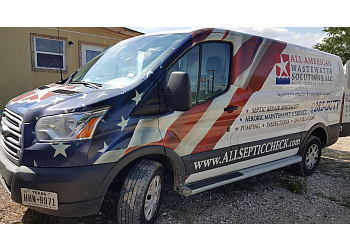 Austin septic tank service All American Wastewater Solutions, LLC