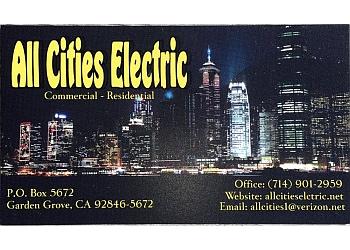 Garden Grove electrician All Cities Electric