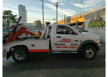 Henderson towing company All City Towing and Recovery LLC