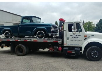 Vancouver towing company All County Auto Towing