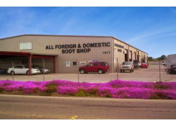 Stockton auto body shop All Foreign & Domestic Body Shop