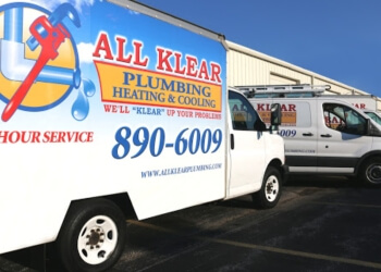 Springfield plumber All Klear Plumbing, Heating & Cooling, Inc.